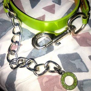 Michael Kors Green Belt vintage Medium